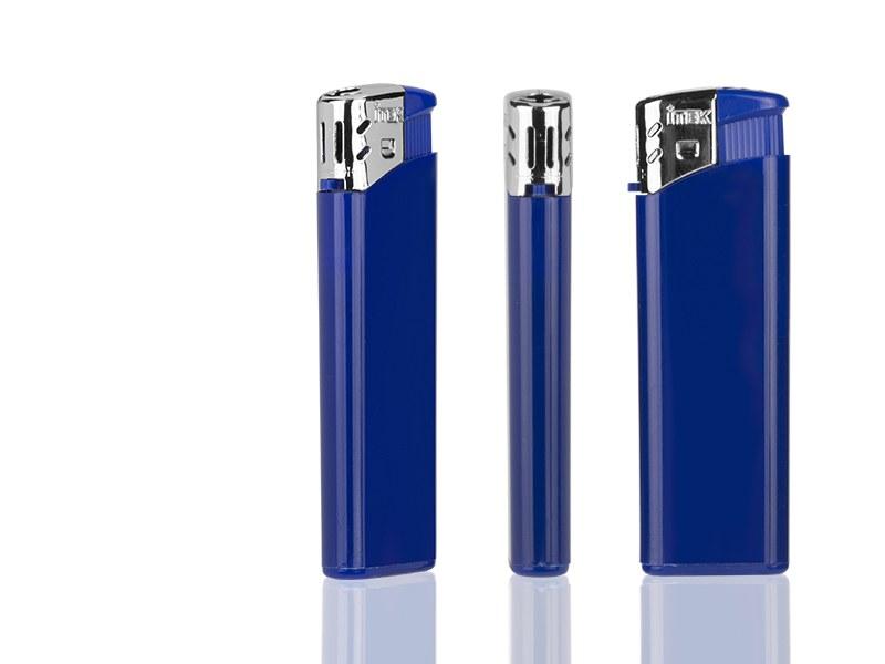 flame elektronski plasticni upaljac plavi makart