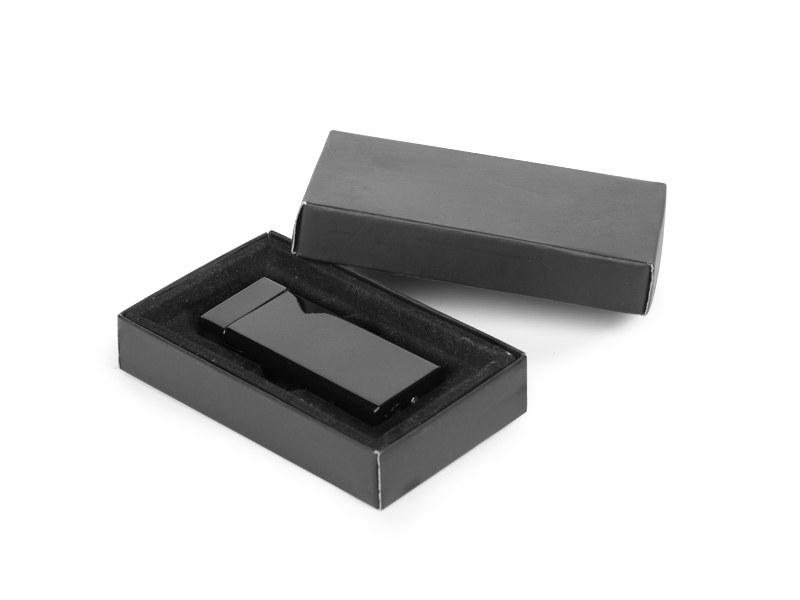 strike metalni upaljac u poklon kutiji crni makart