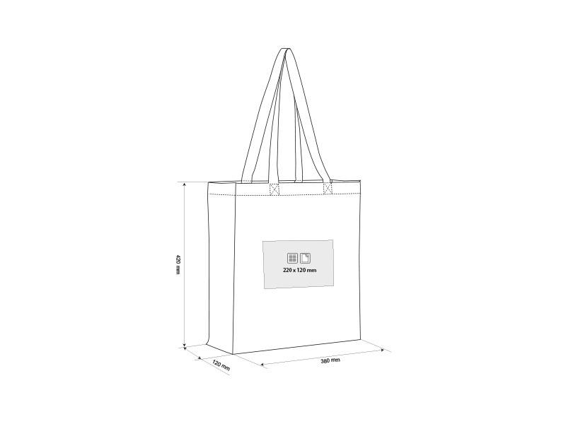 bazar torba za kupovinu od pamuka bez makart