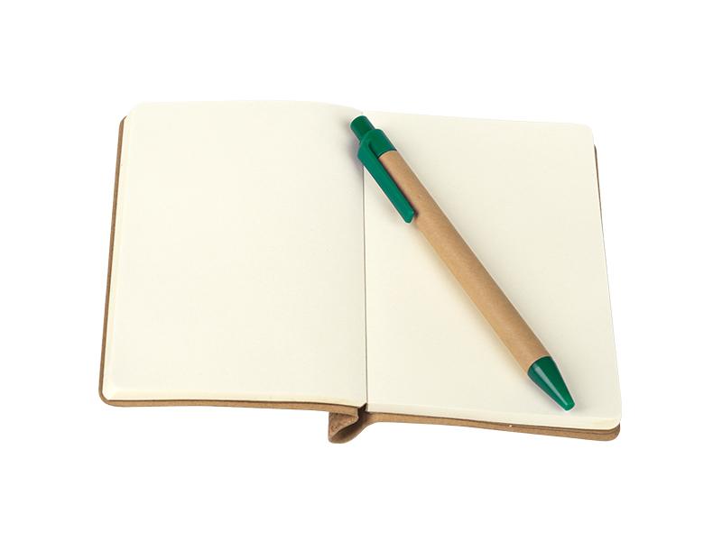 cork notes od plute tamno zeleni makart