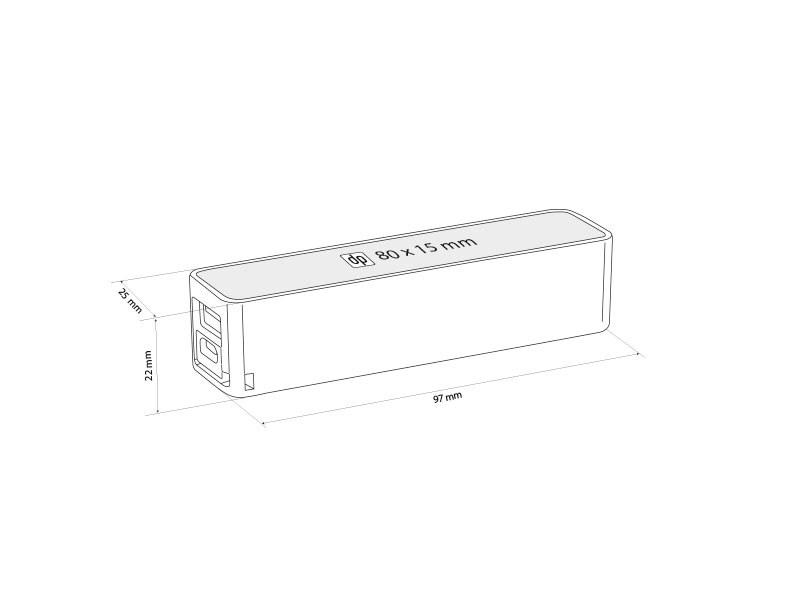Pomoćna baterija kapaciteta 2000 mAh