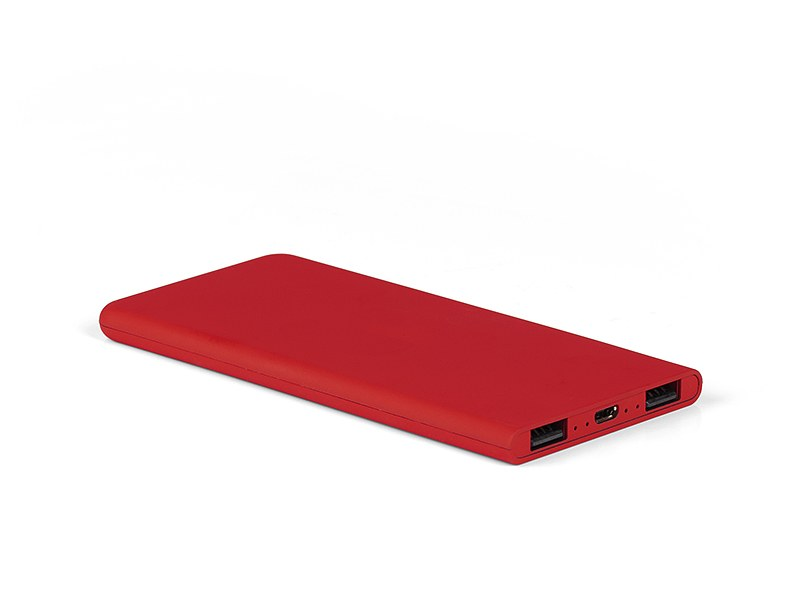 sirius power bank pomocna baterija kapaciteta 4000 mah crveni makart