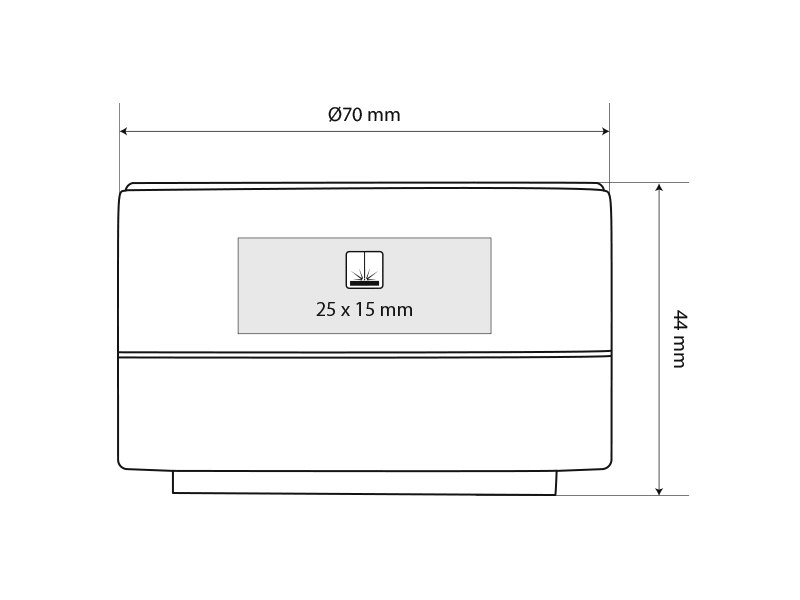 ambiente metalni bluetooth zvucnik roze zlatni makart