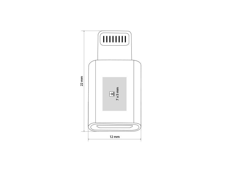 adapter lightning microusb na lightning adapter beli makart