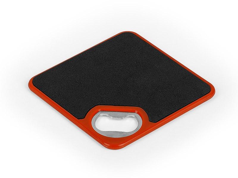 coaster otvarac i podmetac za flase crveni makart