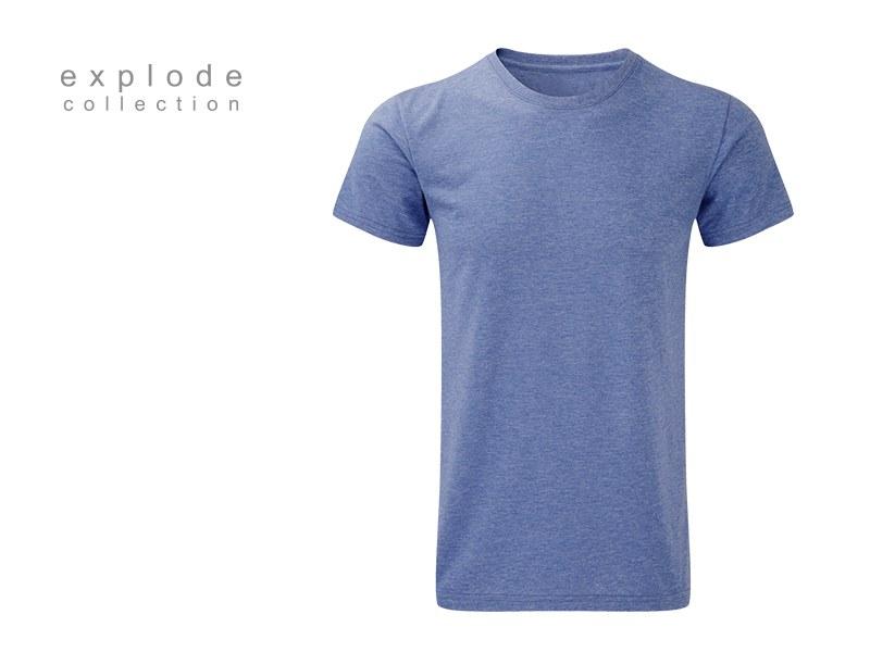 full hd men majica predvidjena za sublimaciju plava makart