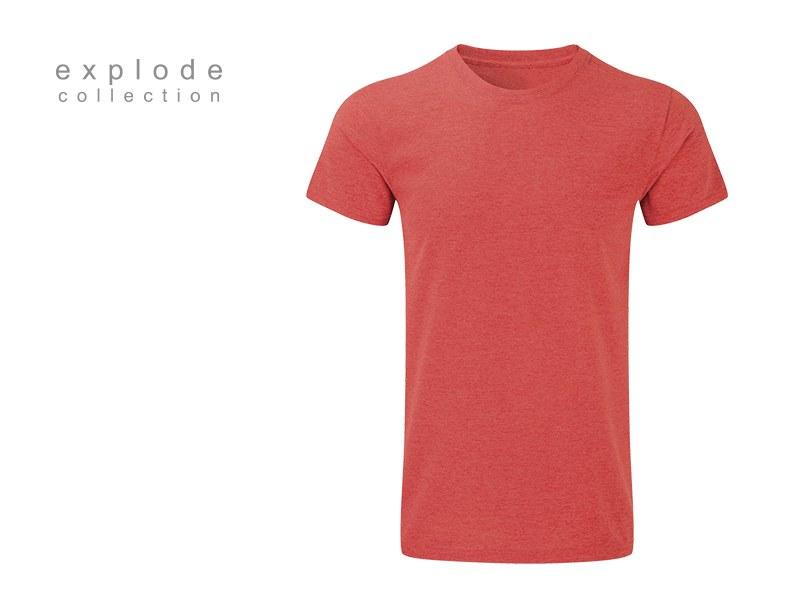 full hd men majica predvidjena za sublimaciju crvena makart