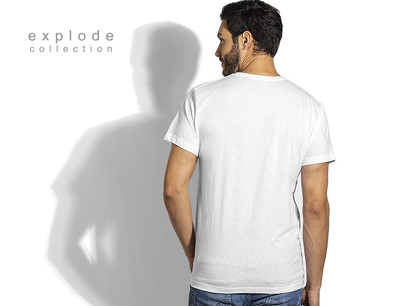 full hd men majica predvidjena za sublimaciju bela makart