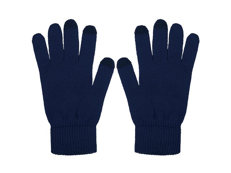 swipe rukavice sa tri aktivna touch prsta akril plavi s/m makart