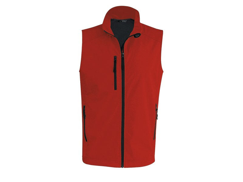 feedback men softshell prsluk crveni xl makart
