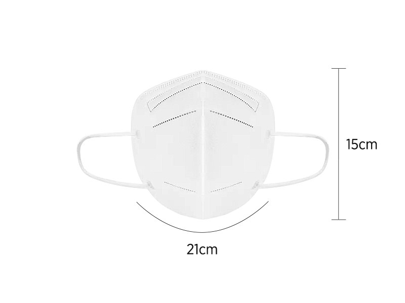 PRO SAFE PLUS KN95, zaštitna maska sa lastišem