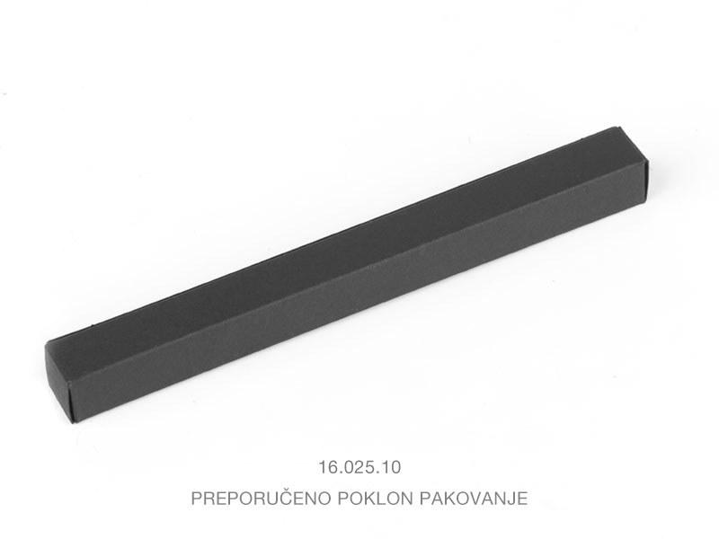winning 2062 metalna hemijska olovka tamno siva makart
