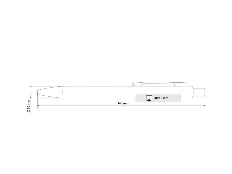 Metalna hemijska olovka