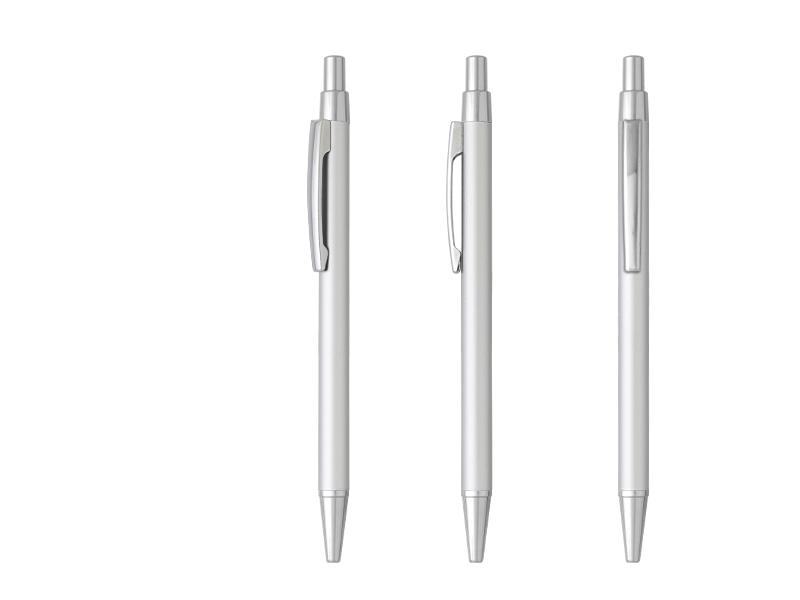 platinum metalna hemijska olovka srebrna makart