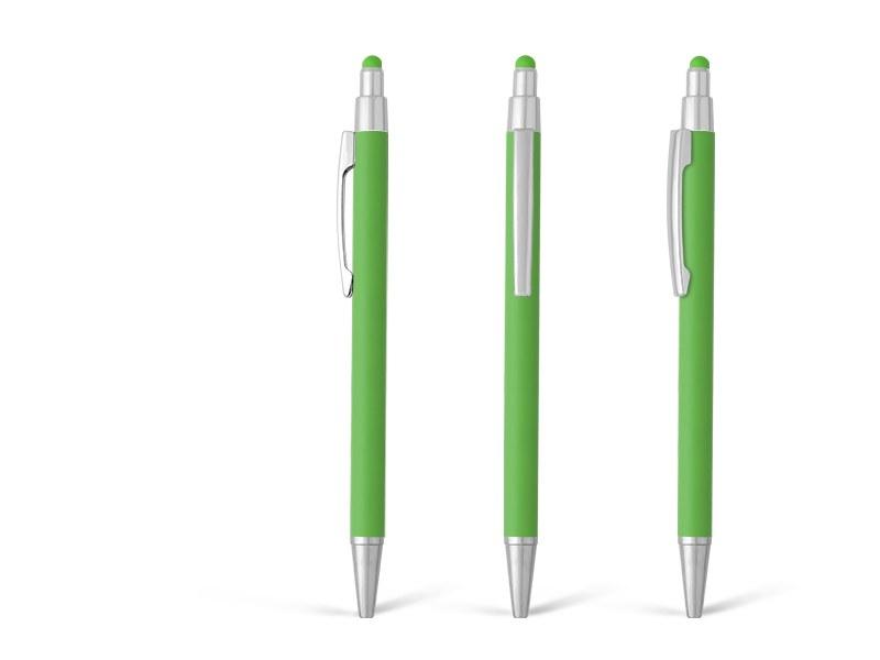 platinum touch metalna touch hemijska olovka svetlo zeleni makart