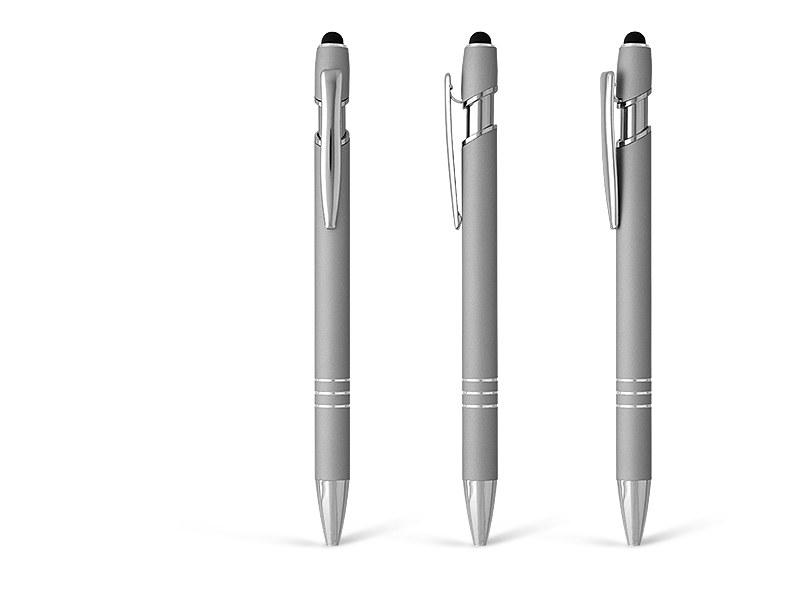 armada touch metalna touch hemijska olovka srebrna makart