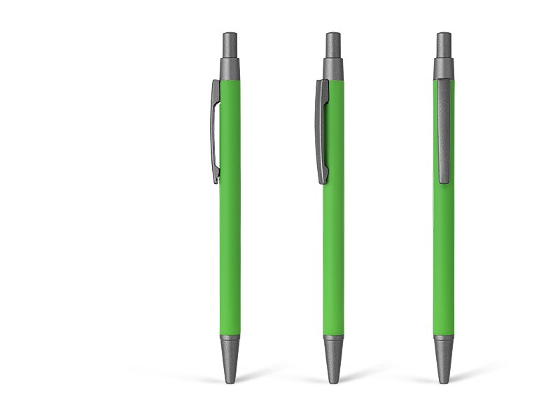 platinum soft metalna hemijska olovka svetlo zeleni makart