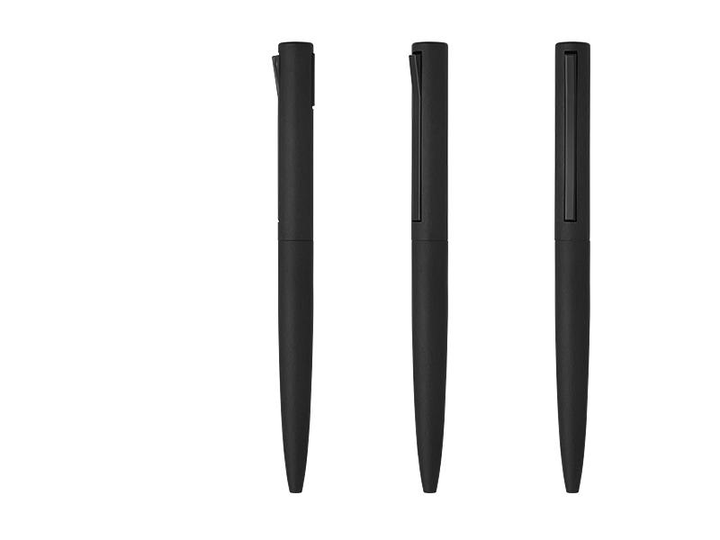 klik metalna hemijska olovka crni makart