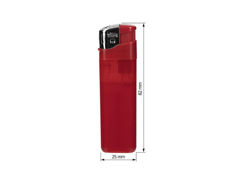 brio elektronski plasticni upaljac crveni makart