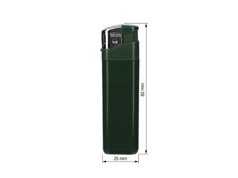 brio elektronski plasticni upaljac zeleni makart