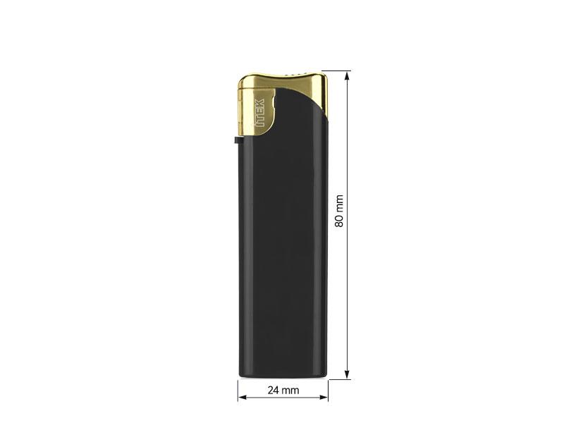 ultima pro elektronski plasticni upaljac zlatni makart