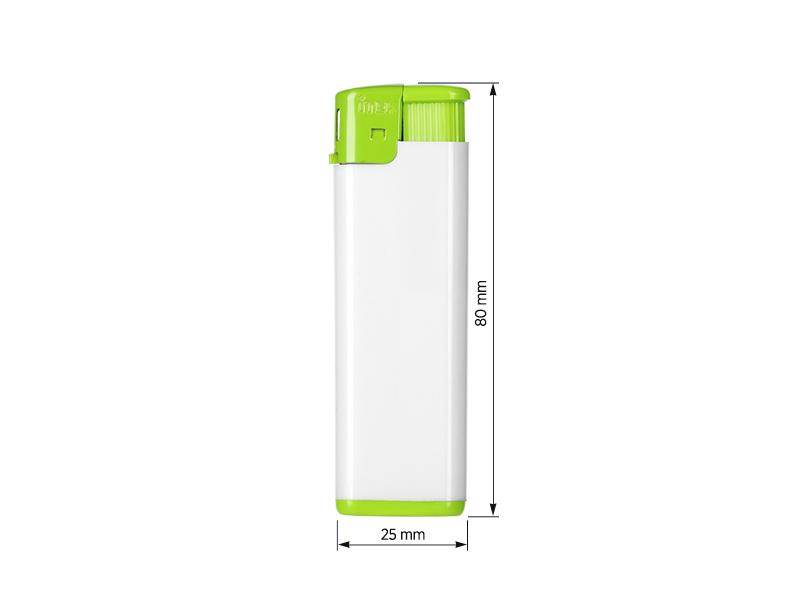 fresh elektronski plasticni upaljac svetlo zeleni makart