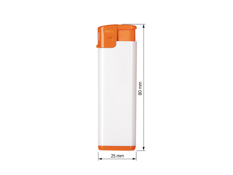 fresh elektronski plasticni upaljac narandzasti makart