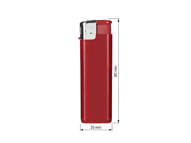 fire elektronski plasticni upaljac crveni makart
