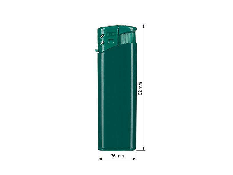 iscra elektronski plasticni upaljac zeleni makart