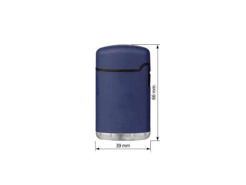 nobi soft elektronski plasticni upaljac plavi makart