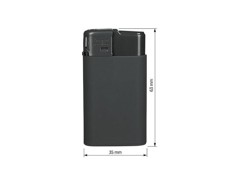 luss soft elektronski plasticni upaljac tamno sivi makart