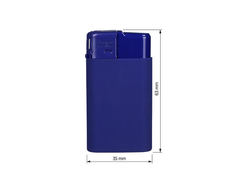 luss soft elektronski plasticni upaljac plavi makart