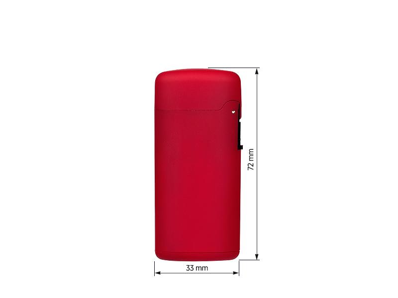 pixi soft elektronski plasticni upaljac crveni makart