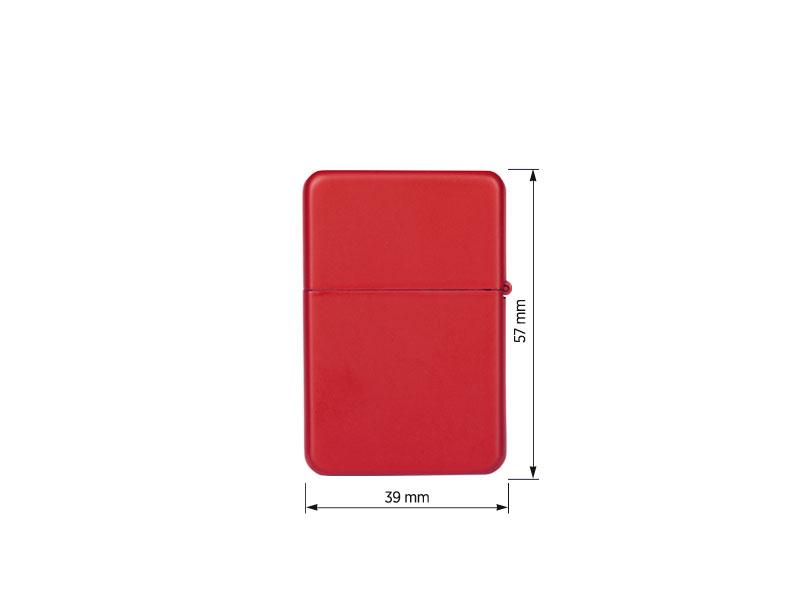 zippo 233 metalni upaljac u poklon kutiji crveni makart