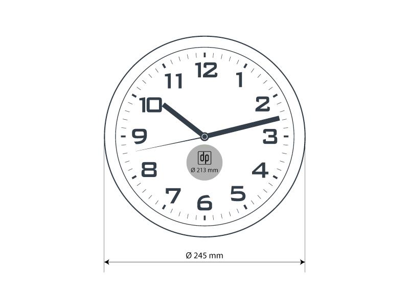 Plastični zitni sat
