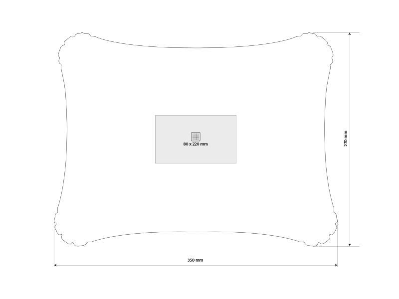 sanibel jastuce na naduvavanje beli makart