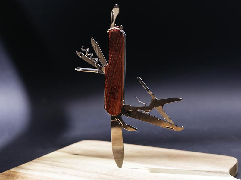 CADET, višenamenski nož sa 10 funkcija, bež