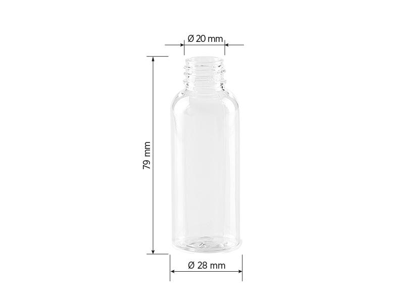 PET 30, pet boca, 30 ml, transparentna