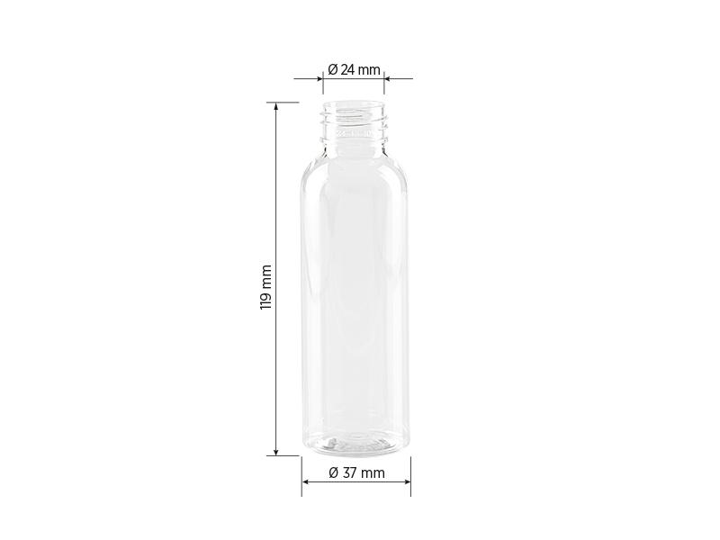 PET 100, pet boca, 100 ml, transparentna