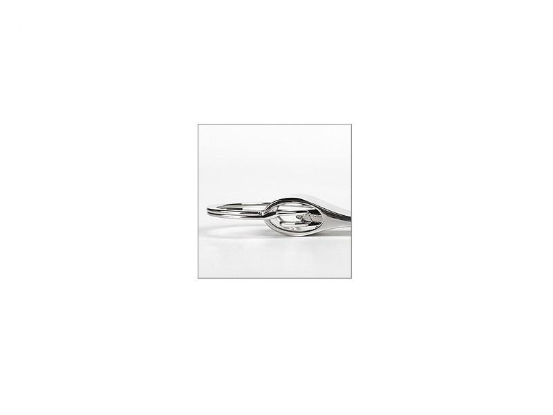 JAZZ, metalni privezak za ključeve, sjajno metalni