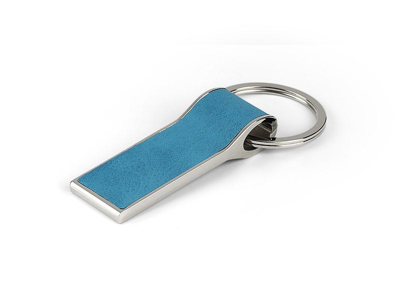 diego metalni privezak za kljuceve tirkizno plavi makart