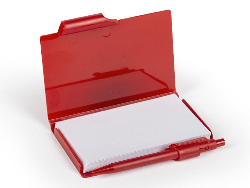 notario notes sa hemijskom olovkom crveni makart