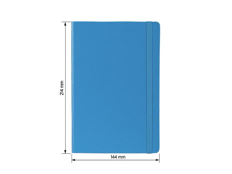toto notes a5 formata tirkizno plavi makart