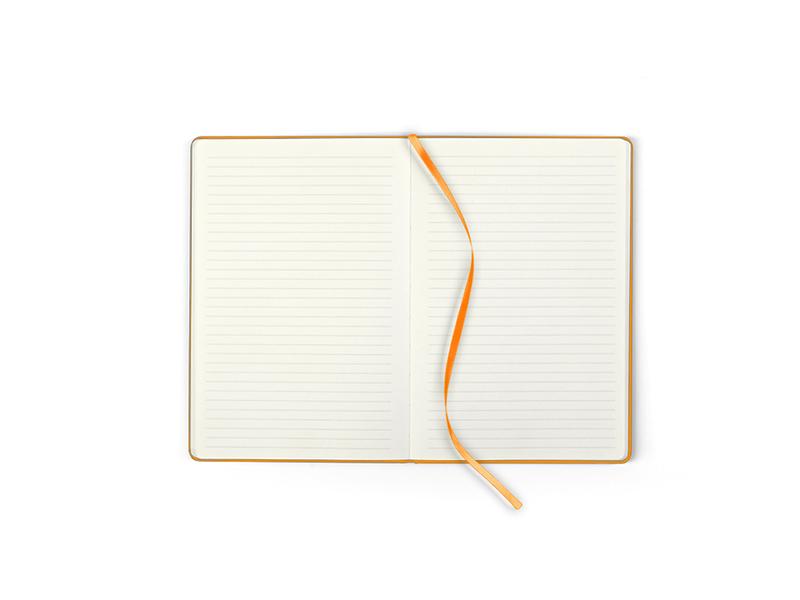 toto mini notes a6 formata narandzasti makart