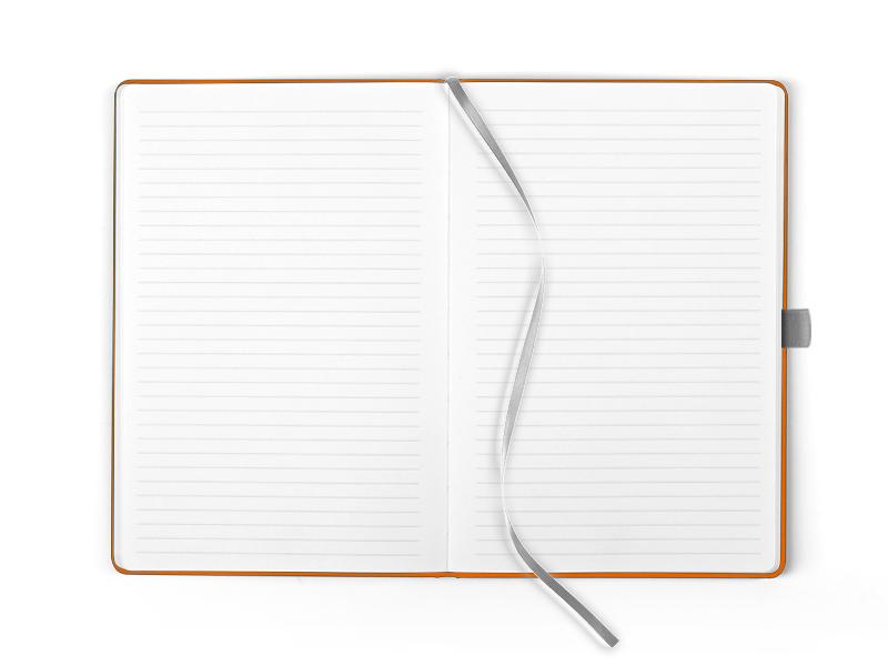 mondo notes a5 formata narandzasti makart