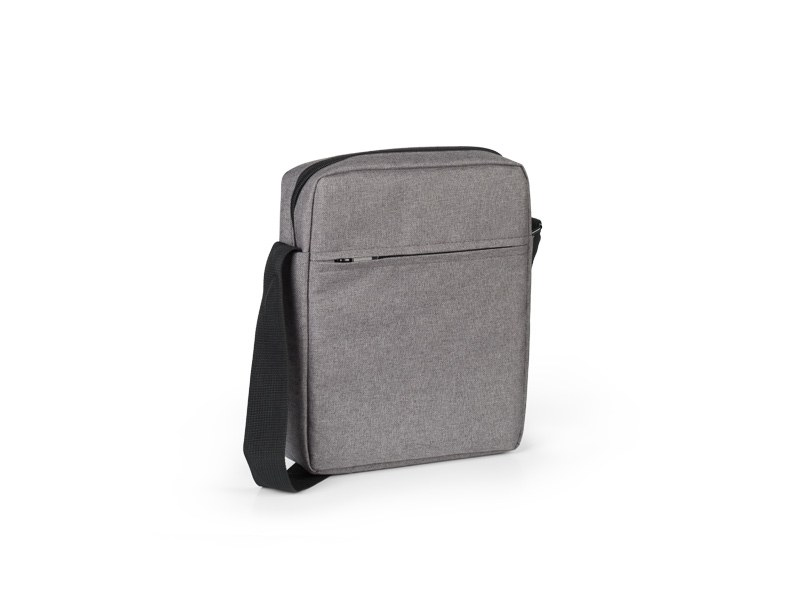aldy novcanik torbica sa odeljkom za tablet siva makart