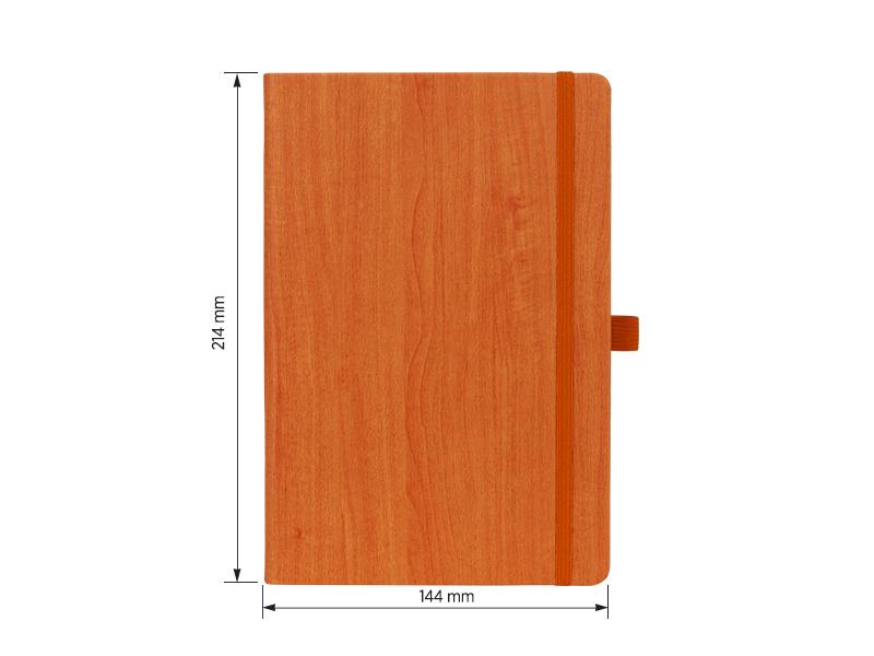 pino notes a5 formata narandzasti makart