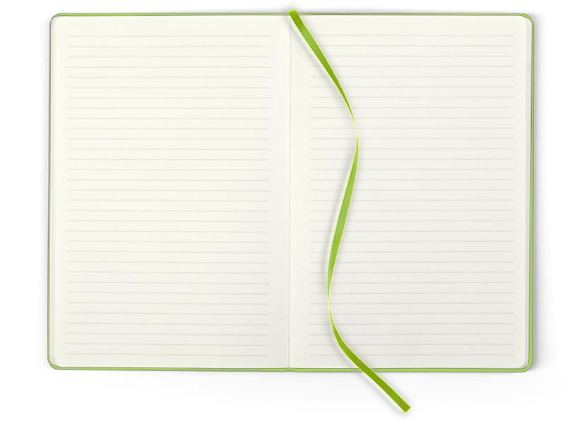 toto maxi notes b5 formata svetlo zeleni makart