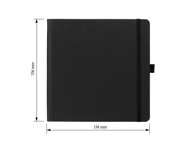kunst notes formata 174 x 174 cm crni makart