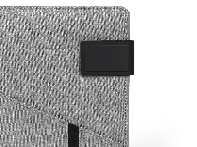 power note notes a5 formata sa pomocnom baterijom kapaciteta 4000 mah sivi makart